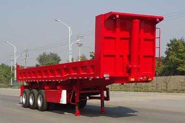 中集华骏 11.34米自卸运输半挂车