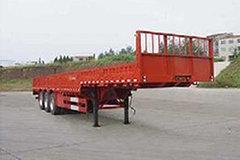 大运 12.5米鹅颈栏板运输半挂车