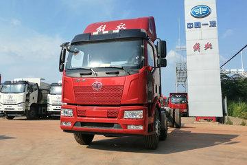 一汽解放 J6L重卡 260马力 6X2 6.8米仓栅式载货车(CA5250CCYP62K1L5T3E6)