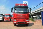 一汽解放 J6L中卡 2019款 240马力 4X2 6.75米仓栅式载货车(带液压泵侧板)(CA5180CCYP62K1L4E5)图片
