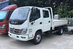 福田时代 M2 110马力 3.22米双排栏板轻卡(BJ1043V9AD6-AB) 卡车图片
