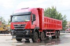 上汽红岩 杰狮重卡 450马力 8X4 8.8米自卸车(CQ3316HXVG486LA) 卡车图片