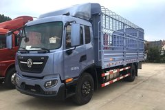 东风商用车 天锦KR中卡 180马力 4X2 6.8米排半仓栅式载货车(京五II)(DFH5160CCYEX3B) 卡车图片