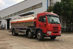 青岛解放 龙V 220马力 6X2 易燃液体罐式运输车(醒狮牌)(SLS5253GRYC5VA)