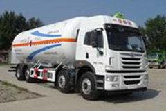 青岛解放 悍V 260马力 8X2 低温液体运输车(宝环牌)(HDS5312GDY)