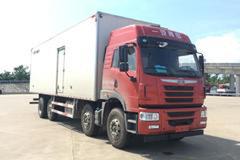 青岛解放 悍V 260马力 8X2 9.4米冷藏车(CA5310XLCP1K2L7T10E5A80)