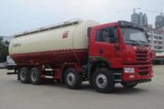 青岛解放 悍V 310马力 8X4 低密度粉粒物料运输车(醒狮牌)(SLS5310GFLC5Q)