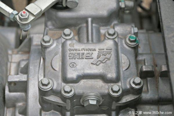 福田 时代领航 130马力 4.2米单排栏板轻量化轻卡(BJ1043V9JBA-BG)