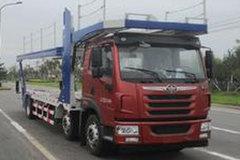 青岛解放 悍V 320马力 6X2 中置轴车辆运输车(CA5220TCLP1K2L6T3E5A80)