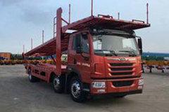 青岛解放 悍V 320马力 6X2 中置轴车辆运输车(中集牌)(ZJV5211TCLQD)