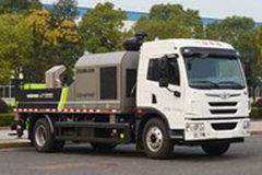 青岛解放 龙V 220马力 4X2 车载式混凝土泵车(中联牌)(ZLJ5140THBJF)