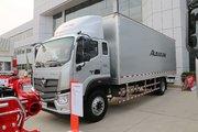 福田 欧航R系(欧马可S5) 超级卡车 220马力 排半厢式载货车(国六)