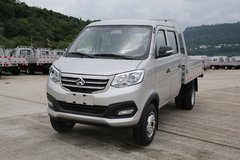 长安跨越 新豹3 舒适版 1.5L 汽油 112马力 2.55米双排栏板式微卡(双后轮)(国六)(SC1031NAS64) 卡车图片