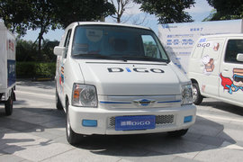 福田時代 遞哥 低配版 1.1T 2座 3.4米純電動封閉貨車7.95kWh