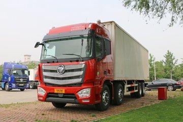福田 欧曼EST 6系重卡 430马力 8X4 9.6米厢式载货车