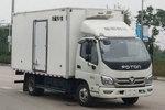 福田时代M3 7.4T 4.1米单排纯电动冷藏车(BJ5073XLCEV1)(箱宽2.2米)97.7kWh