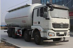 陕汽重卡 德龙新M3000 加强版 400马力 8X4 低密度粉粒物料运输车(国六)(SX5319GFLMC466)