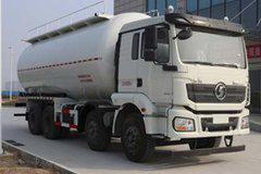 陕汽重卡 德龙新M3000 标准版 336马力 8X4 28方低密度粉粒物料运输车(SX5310GFLHN306)