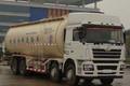 陕汽重卡 德龙F3000 加强版 380马力 8X4 41方LNG低密度粉粒物料运输车(SX5318GFLNT466TL)图片