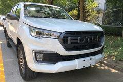 福田 2019款 2.0T柴油 163马力 两驱 新款双排皮卡 卡车图片