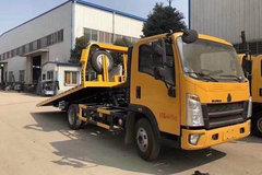 中国重汽 HOWO 悍将 170马力 4X2 清障车(湖北江南-江特牌)(JDF5060TQZZ5)