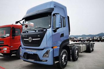 东风商用车 天龙KL重卡 绿通版 465马力 8X4 9.6米栏板载货车(国六)(DFH1320D)