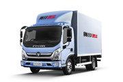 福田 奥铃速运 120马力 4.14米单排厢式轻卡(国六)(BJ5048XXY8JDA-AB2)