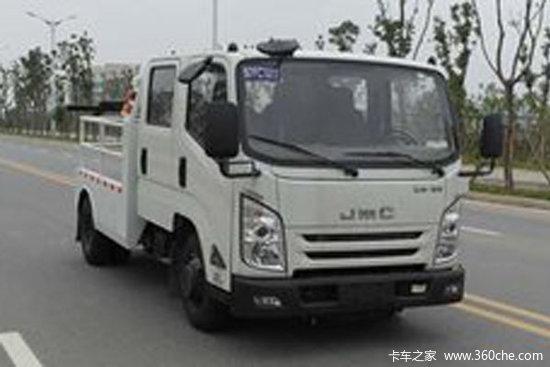 江铃 凯运升级版 116马力 4X2 清障车(江特牌)(JMT5045TQZXSG2)