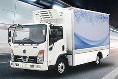 吉利远程 E200 标配版 3.9米单排厢式纯电动冷藏车(DNC5042XLCBEVK3)96.7kWh
