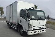庆铃 五十铃KV600 7.3T 4.17米单排纯电动厢式轻卡(QL5070XXYBEVECCA)96.77kWh