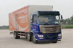 联合卡车 N220中卡 220马力 6X2 9.6米厢式载货车(QCC5252XXYD659N) 卡车图片