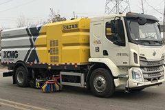 东风柳汽 新乘龙M3 200马力 4X2 洗扫车(徐工牌)(XZJ5180TXSL5)