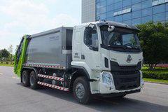 东风柳汽 新乘龙M3 270马力 6X4 压缩式垃圾车(中联牌)(ZLJ5251ZYSLZE5)