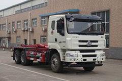 东风柳汽 新乘龙M3 270马力 6X4车厢可卸式垃圾车(运力牌)(LG5250ZXXC5)