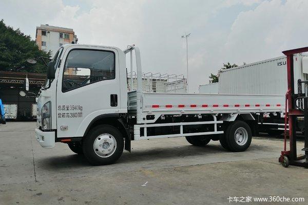 优惠1.06万五十铃KV100载货车促销中