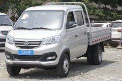 长安跨越 新豹3 标准版 1.5L 汽油 112马力 2.71米双排栏板式微卡(双后轮)(国六)(SC1031NAS64) 卡车图片