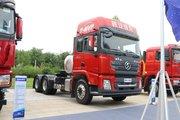陕汽重卡 德龙X3000 轻量化版 400马力 6X2 LNG牵引车(SX42584X279TL)