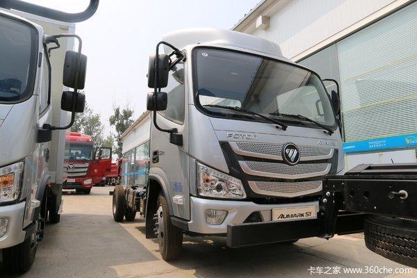 购欧马可S1载货车限时享高达0.2万优惠