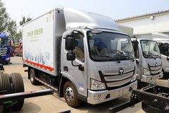 福田 欧马可S3系 156马力 5.8米排半厢式轻卡(BJ5108XXY-FG) 卡车图片