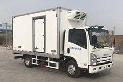 庆铃 五十铃KV600 130马力 4X2 4.06米冷藏车(鸿天牛牌)(HTN5041XLC)