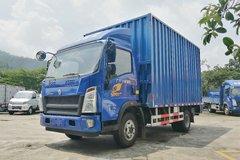 中国重汽HOWO 统帅 148马力 4.15米单排厢式轻卡(ZZ5107XXYF331CE1) 卡车图片