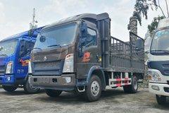 中国重汽HOWO 统帅 154马力 4.15米单排仓栅式轻卡(10挡)(ZZ5107CCYG3315E1) 卡车图片