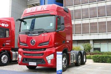 陕汽重卡 德龙X6000 500马力 6X2 AMT自动挡牵引车(中提升)(SX4250GC3)