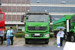 陕汽重卡 德龙新M3000 标载版 336马力 8X4 6.5米LNG自卸车(SX3318HR326TL)图片