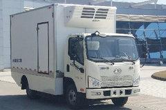一汽解放 J6F 4.5T 4米单排纯电动冷藏车(CA5049XLCP40L2BEVA83)