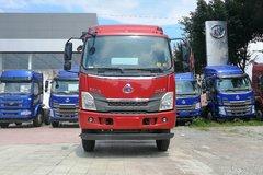 东风柳汽 乘龙L3中卡 170马力 4X2 6.75米排半栏板载货车(4700轴距)(LZ1160M3AB) 卡车图片