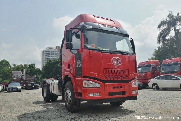 回馈客户桂林解放J6M牵引车仅售27.10万