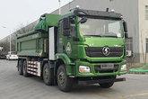 陕汽重卡 德龙新M3000 8X4 6.5米纯电动自卸车(SX3317MF406BEV)