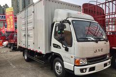 江淮 康铃H5 116马力 4.15米单排厢式轻卡(HFC5043XXYP92K1C2V-S) 卡车图片