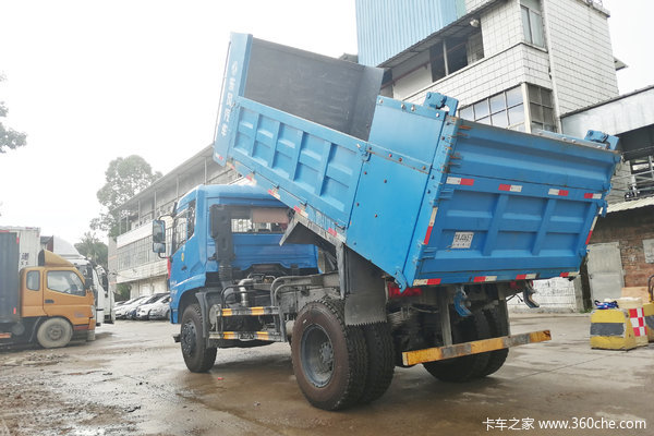 东风力拓T25自卸车配玉柴动力让利0.5万